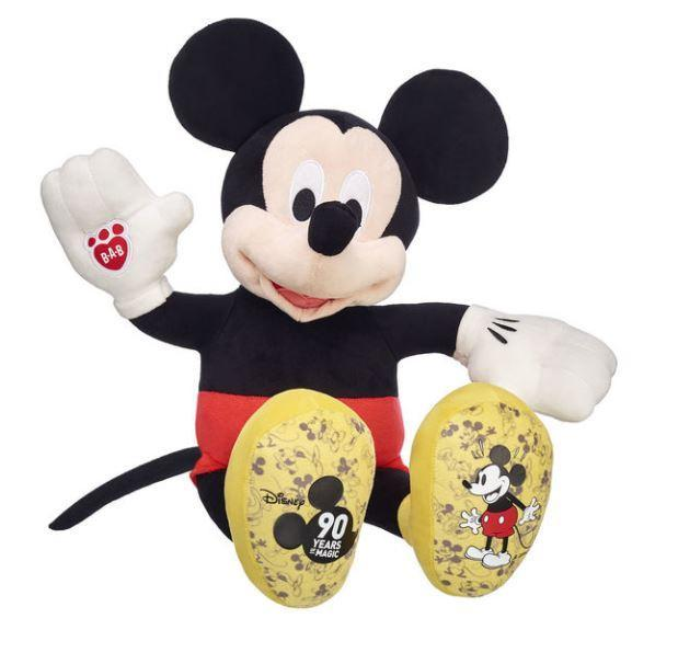 Even the 90th Birthday Mickey toys are included in the sale. (Credit: Build-A-Bear)