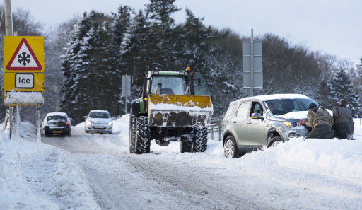 Yellow Warning For Snow And Ice Issued In NI