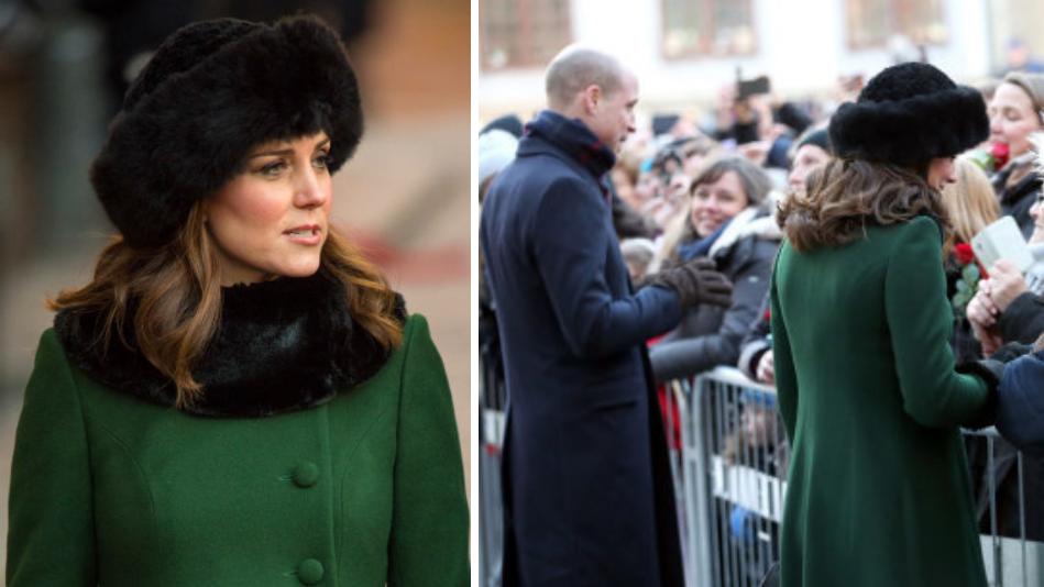 df0cc223cc1 Kate Middleton Receives Backlash Over  Arctic Fur  Hat In Sweden ...
