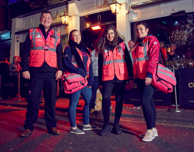 The Soho Angels are helping make nights out more inclusive.