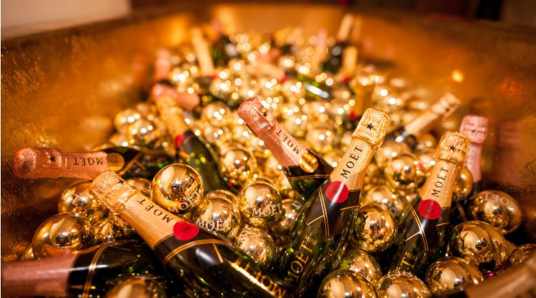 Co-Op's own champagne beat luxury brands. Credit: Pexels