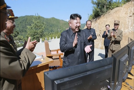 North Korea fires missile into sea