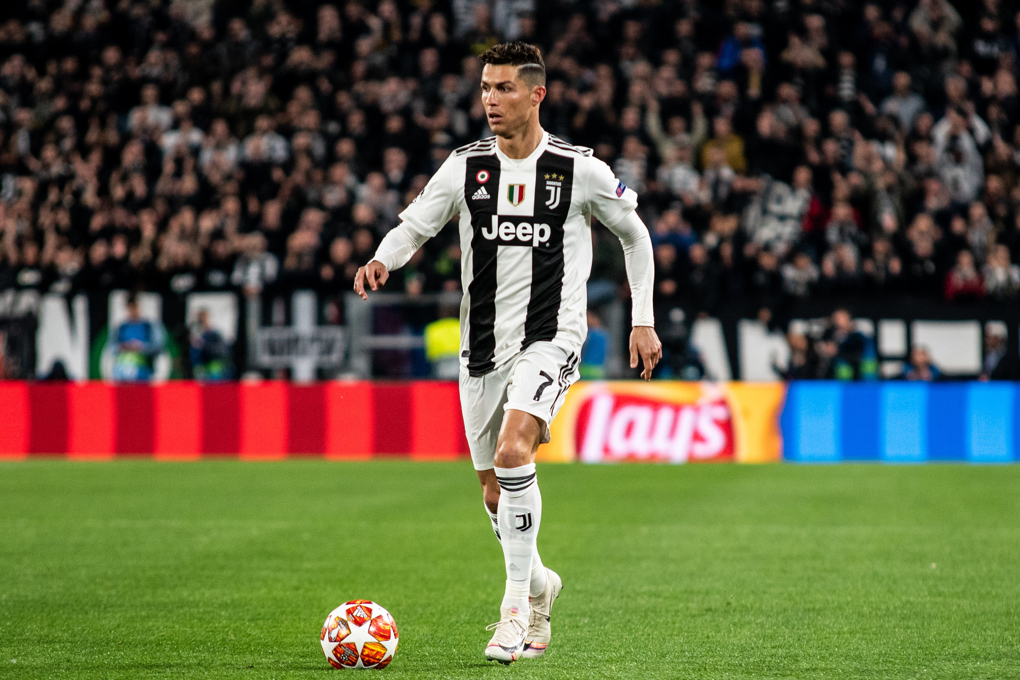 Cristiano Ronaldo says he is proud after making history with Juventus