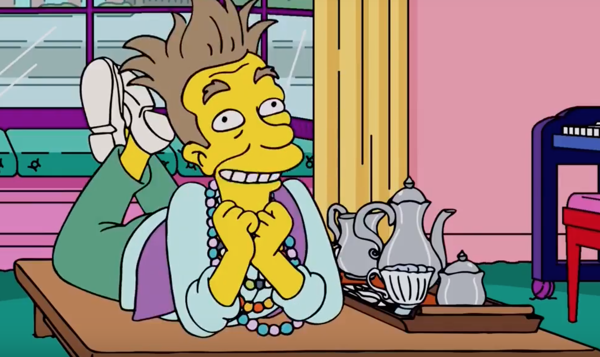 Credit: The Simpsons / FOX. No matter how much LSD you do, the newer episodes aren't great