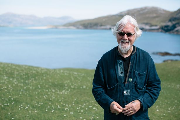 Billy Connolly in Made in Scotland. Credit: BBC