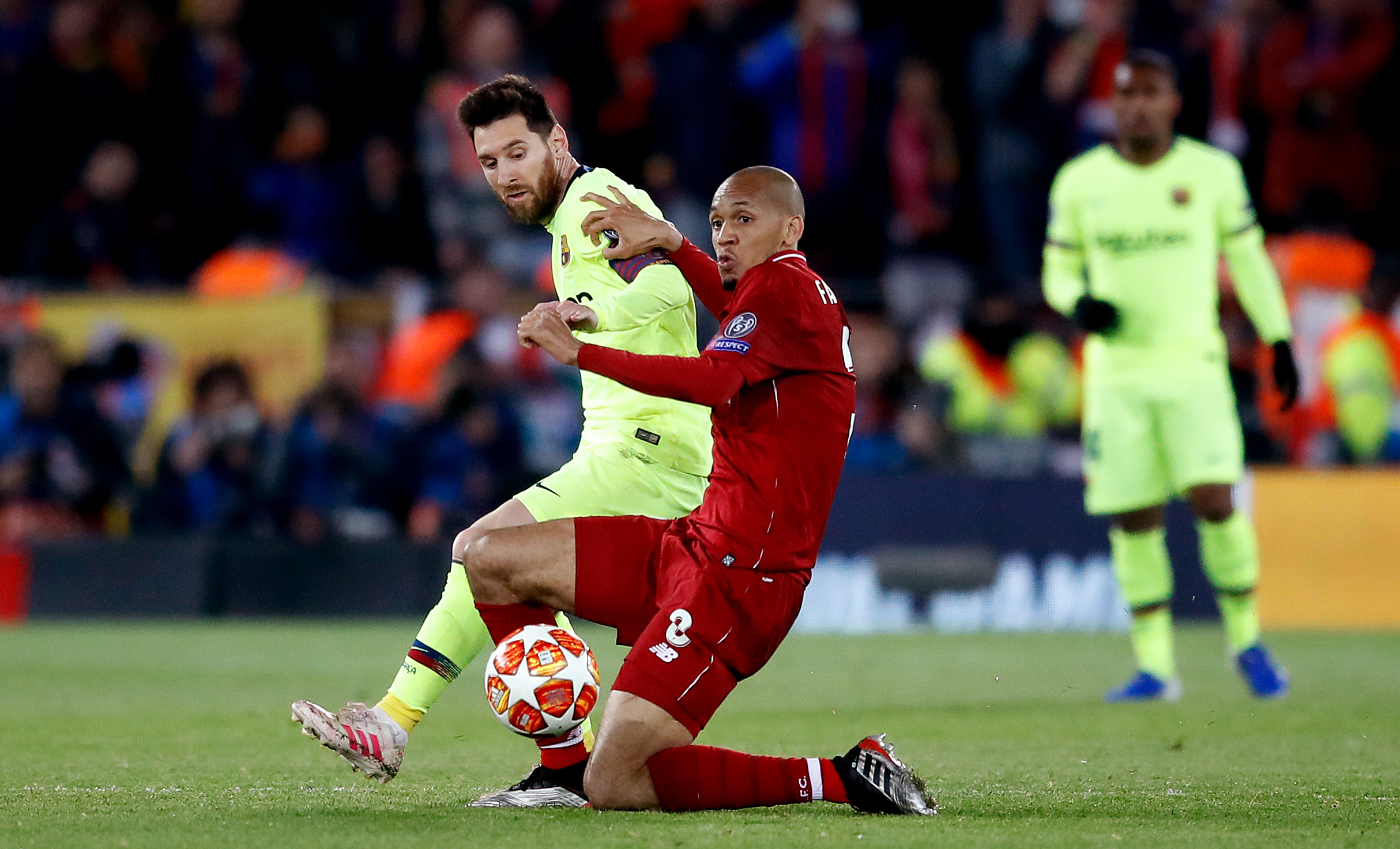 Lionel Messi labelled UNTOUCHABLE by ex-Barcelona star despite epic Liverpool comeback