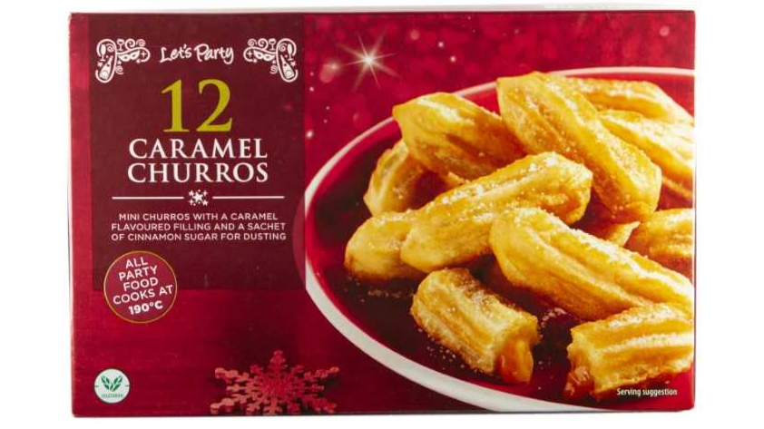 Aldi Is Selling Caramel Churros Just In Time For Christmas