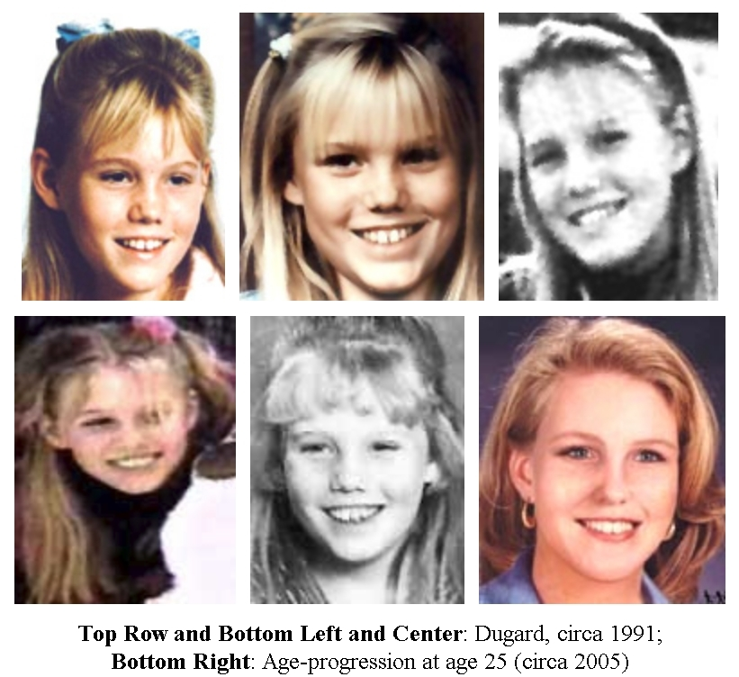 A composite photo of Jaycee Dugard. Credit: PA