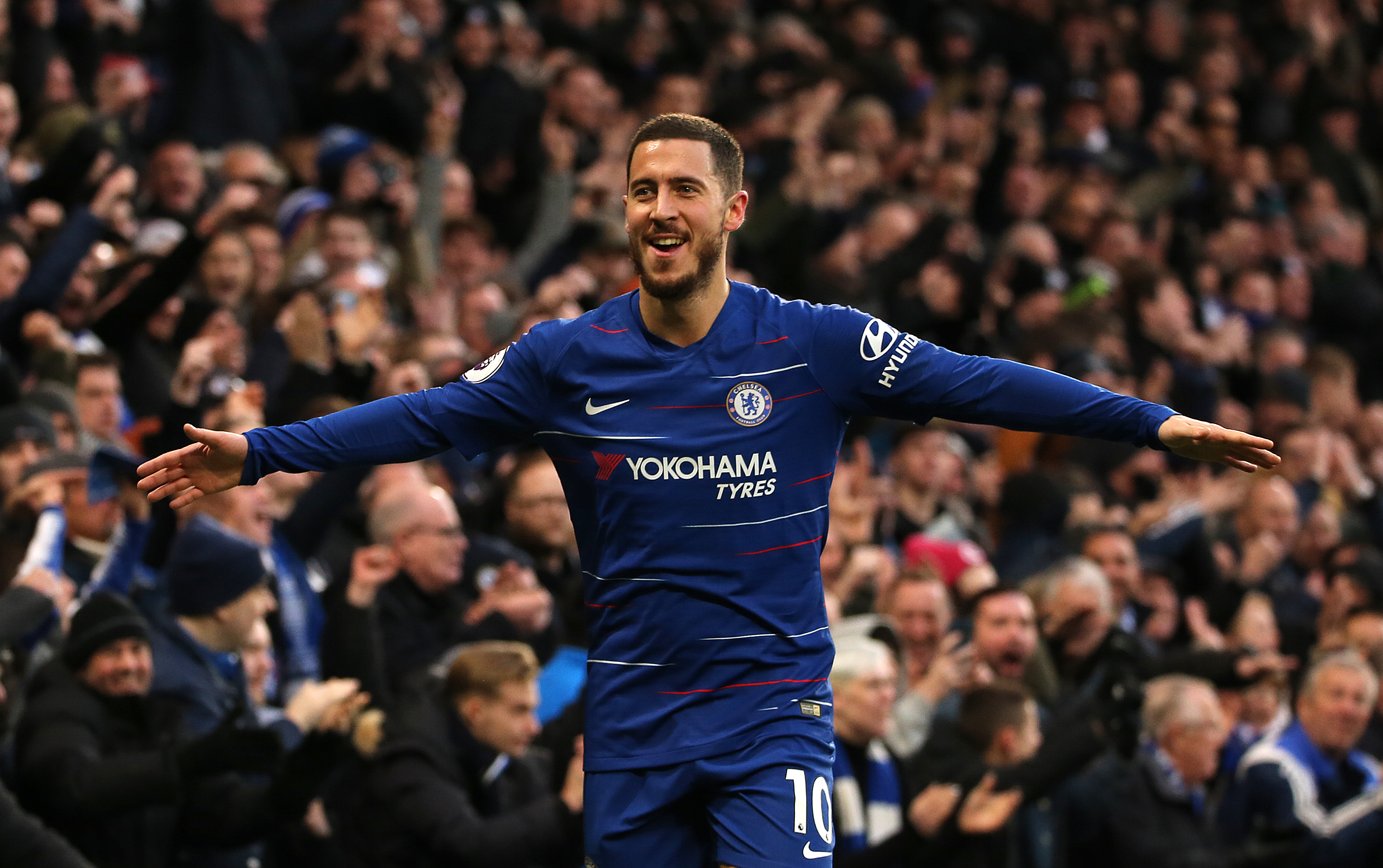Hazard is extremely important to Chelsea. Image: PA Images