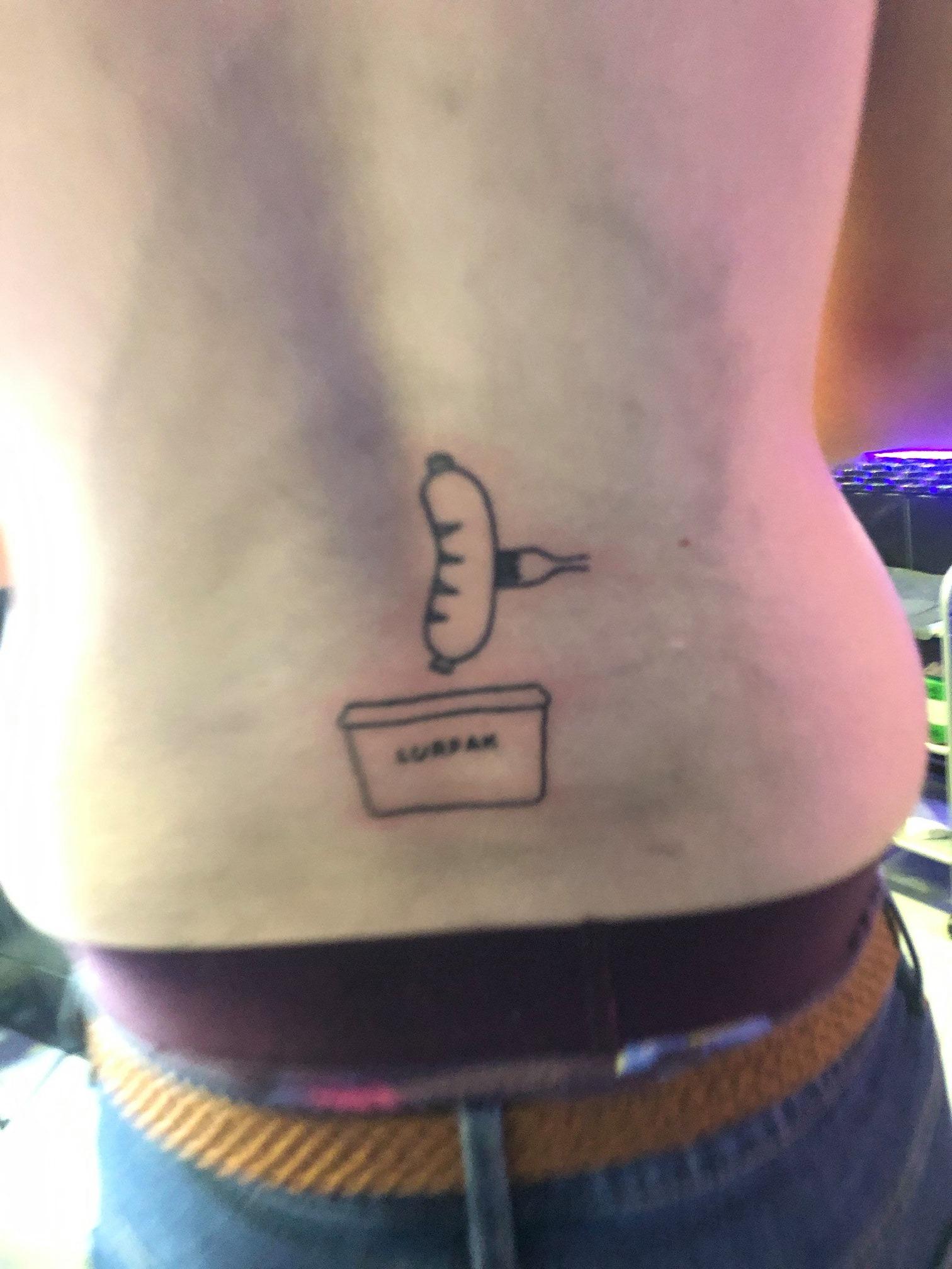 Lad Loses Fantasy Football Bet And Gets Lurpak Sex Tattoo