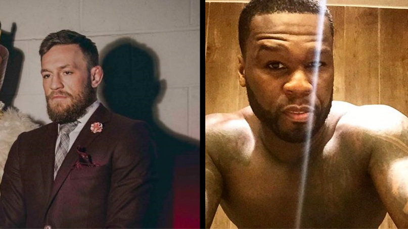 Conor McGregor Continues Riling 50 Cent By Saying He Has Moobs