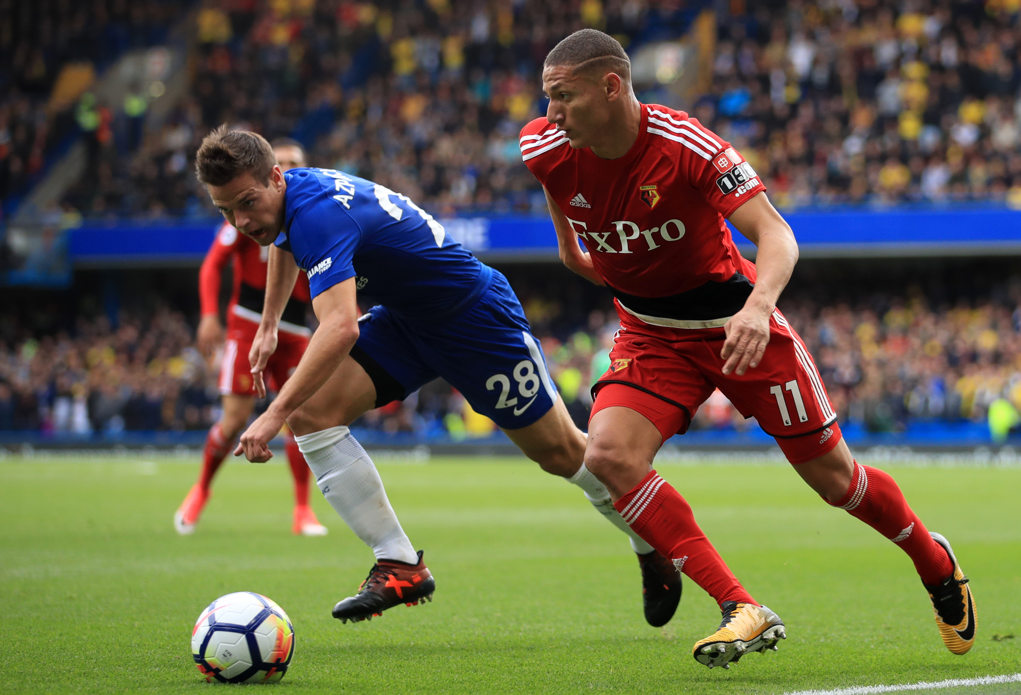 Arsenal and Chelsea prepare move for Watford's Richarlison
