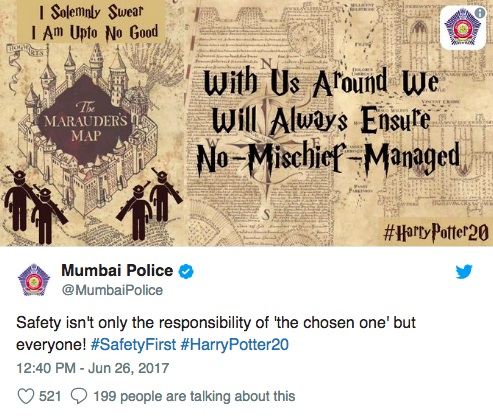 The Mumbai Police Twitter