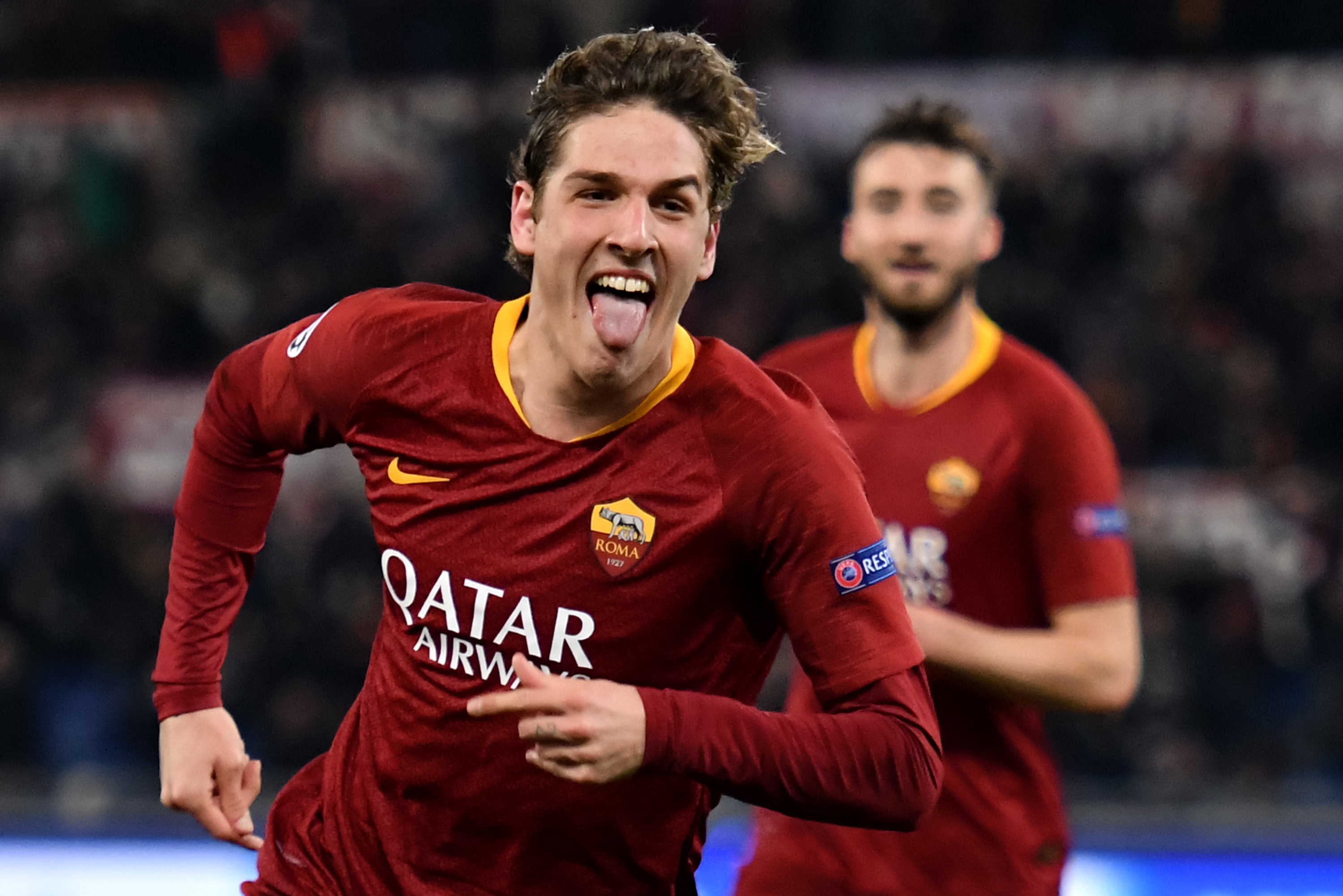 Zaniolo could be a brilliant signing for Arsenal. Image: PA Images
