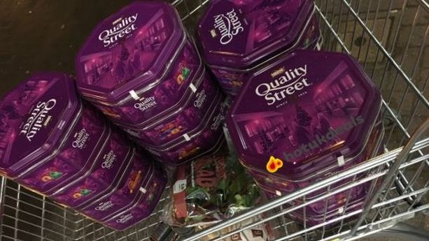 Tesco Is Selling Leftover Christmas Quality Street Tins For Less Than A Cup Of Coffee