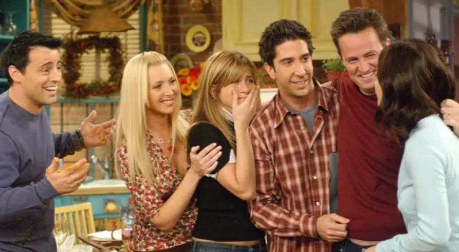Friends will be leaving US Netflix at the end of this year. Credit: Warner Bros
