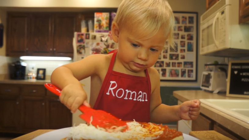 Two-Year-Old Roman The Chef Is Back With Another Cooking Masterclass
