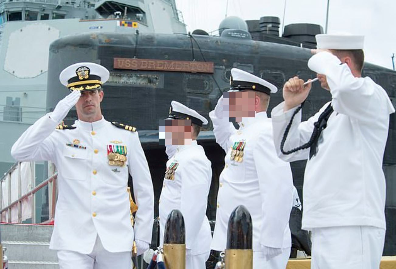 Us Navy Submarine Commander Demoted After Paying 10