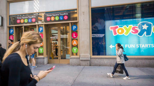 Looks Like Play Day Could Be Over For Toys 'R' Us