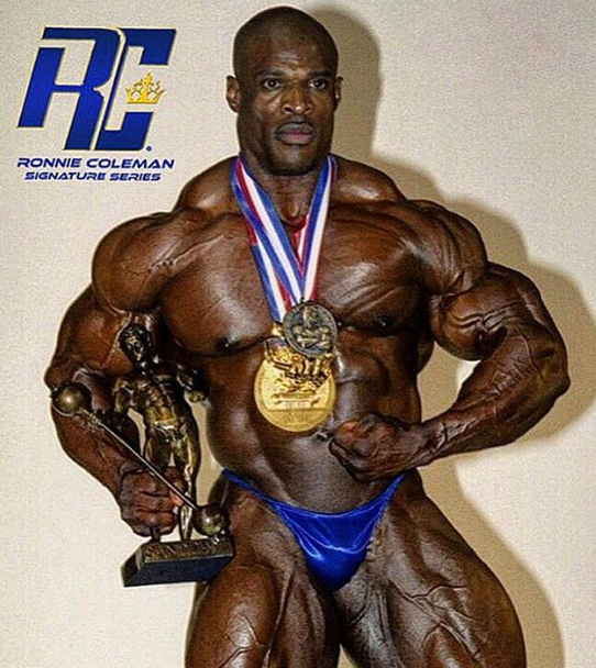 Coleman is a legend of the bodybuilding world, claiming the Mr Olympia title eight times. Credit: Instagram.