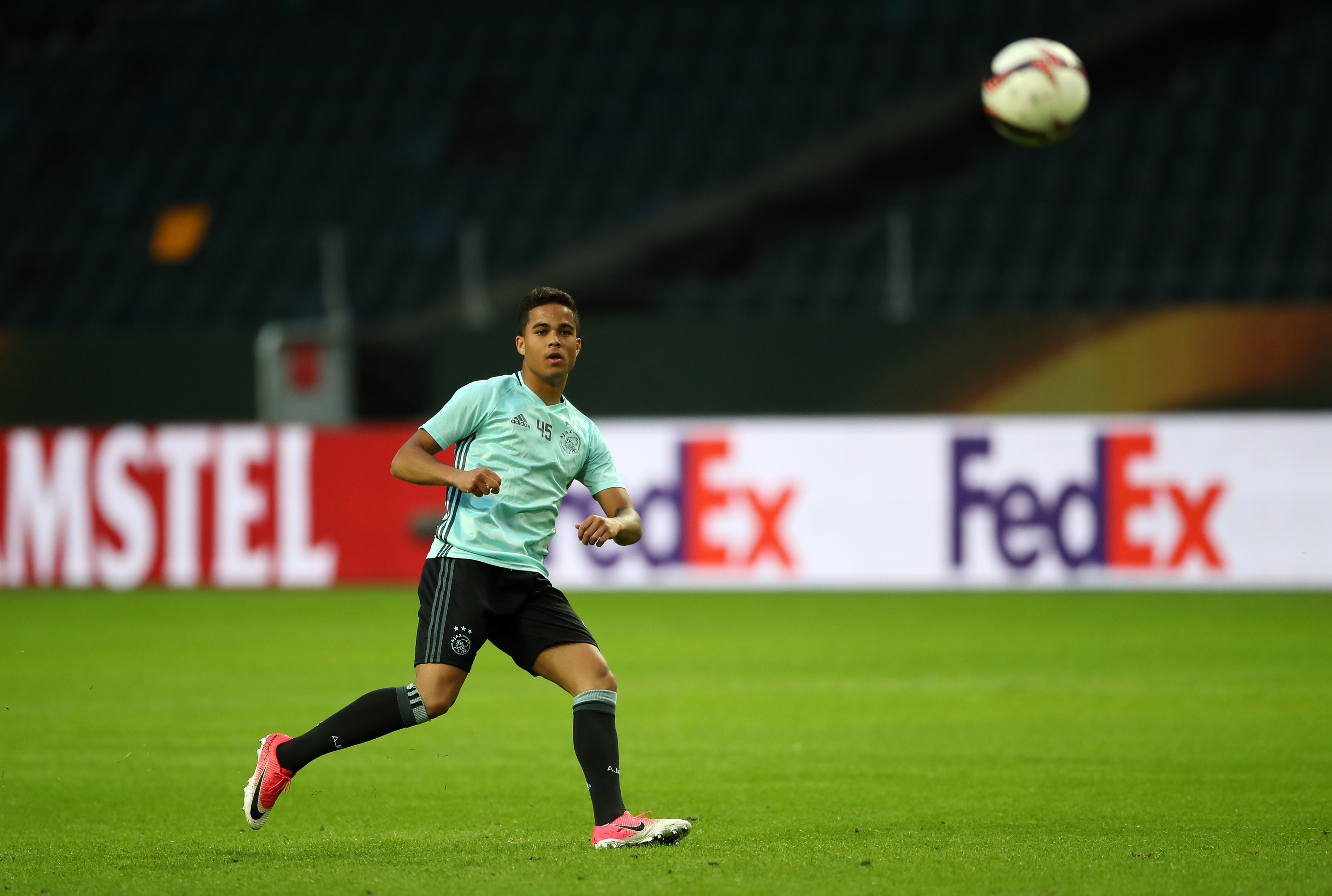 Ajax starlet Justin Kluivert open to future Arsenal move