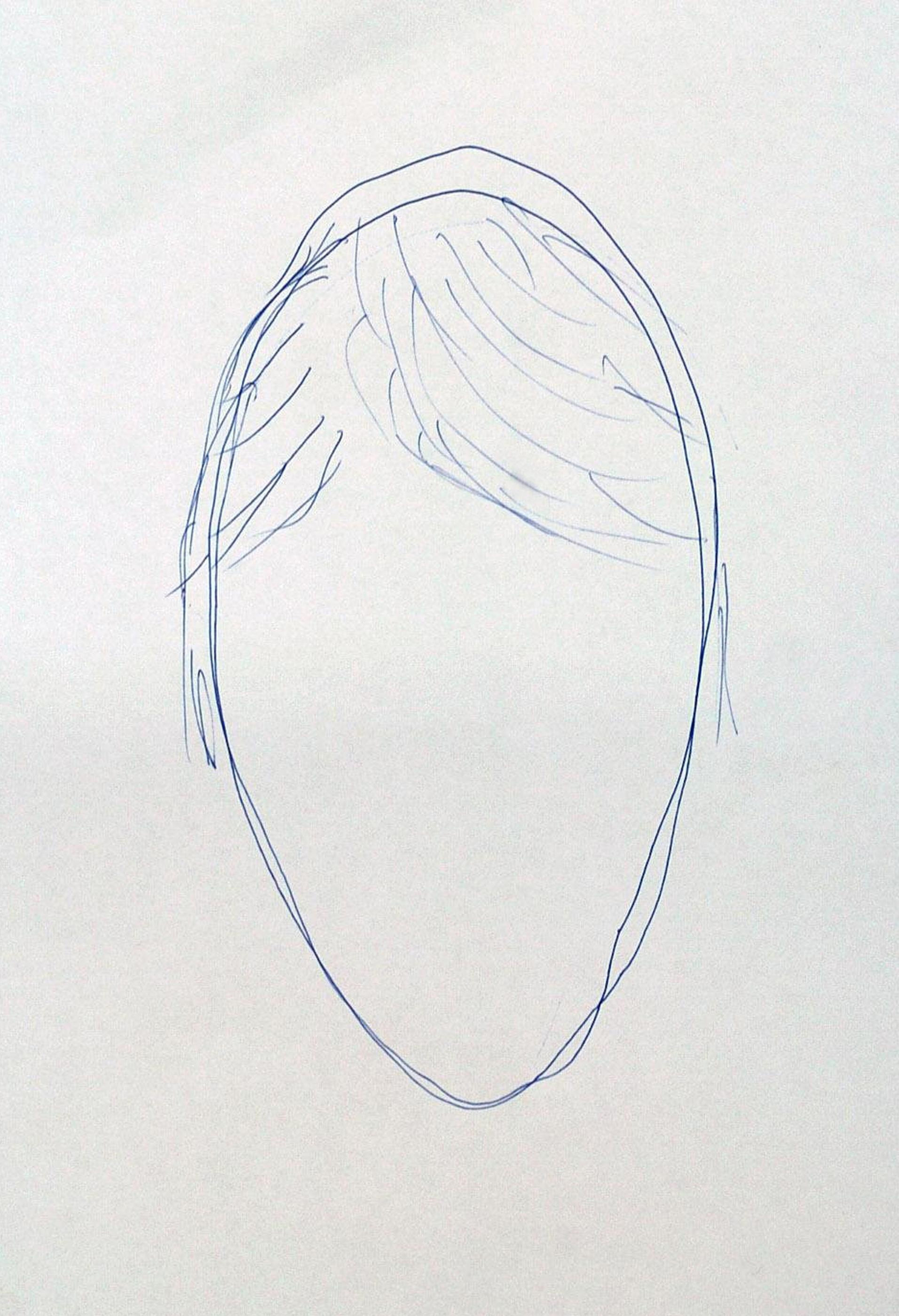 This drawing was made from memory by Brit Simon Russell back in 2007, after being shown it by cops working on the case. Credit: PA