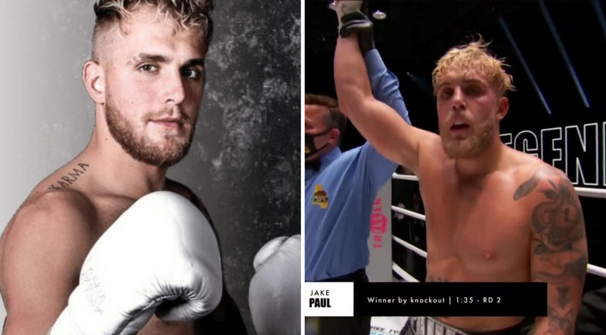 Jake Paul S Next Two Opponents For 2021 Are Named By Ufc Legend