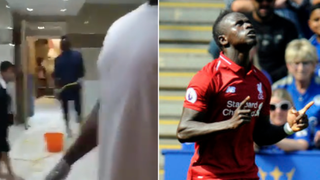 Sadio Mane Cleans Toilets At Local Mosque In Humble Gesture