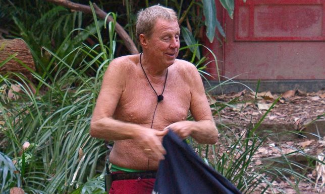 Apparently James McVey sees Harry Redknapp as a bit of a grandfather figure. Credit: ITV