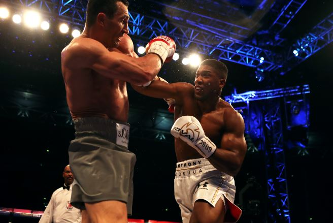 Joshua beat Klitschko but has failed to make a fight with Wilder. Image PA Images