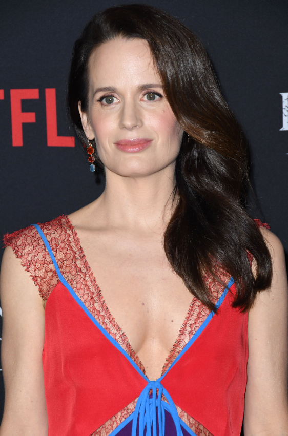 Elizabeth Reaser, who plays Shirley. Credit: PA