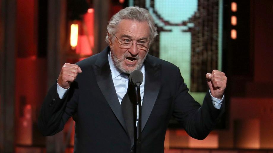 Trump Protester Hits Back At Robert De Niro's Broadway Show