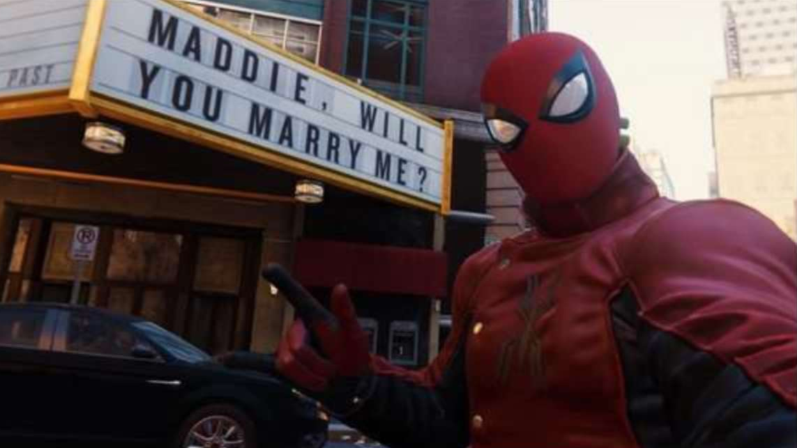 Spider-Man Player Uses World's Saddest Easter Egg To Propose, She Said Yes