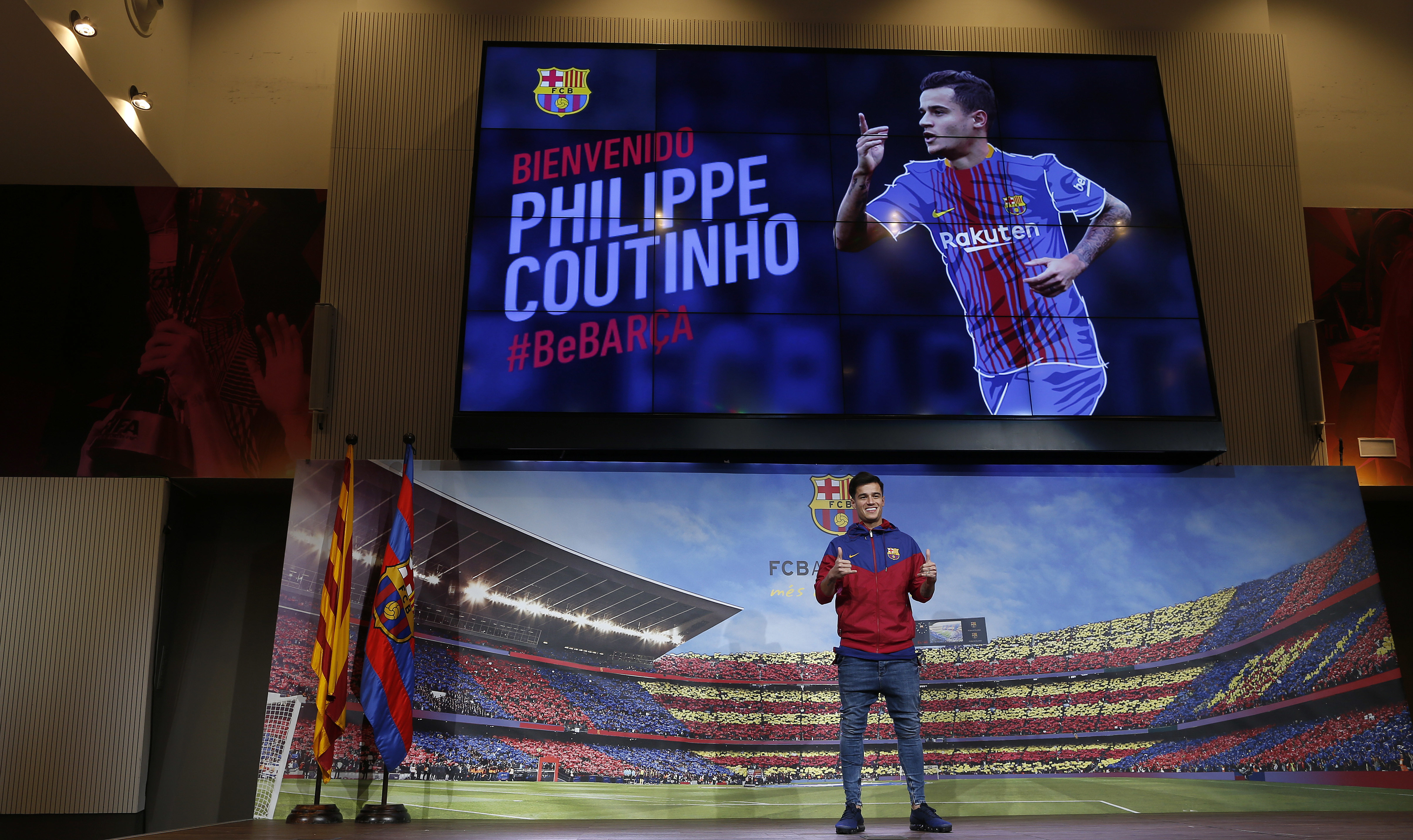 Barcelona midfielder Philippe Coutinho: 'Liverpool worked hard to keep me'