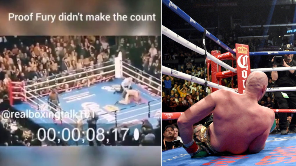 Deontay Wilder Posts 'Video Proof' That Tyson Fury Didn't Make 10 Count