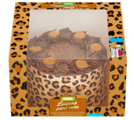 ASDA Is Selling A Gorgeous Leopard Print Cake And Its Fierce