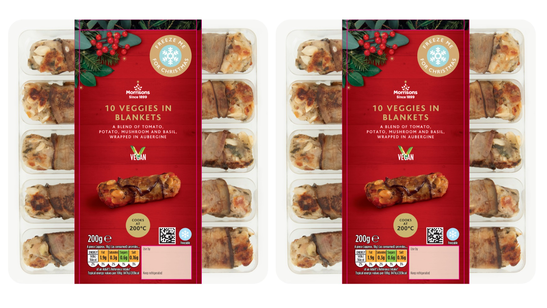 Morrisons Has Created Vegan Pigs In Blankets Just In Time For Christmas