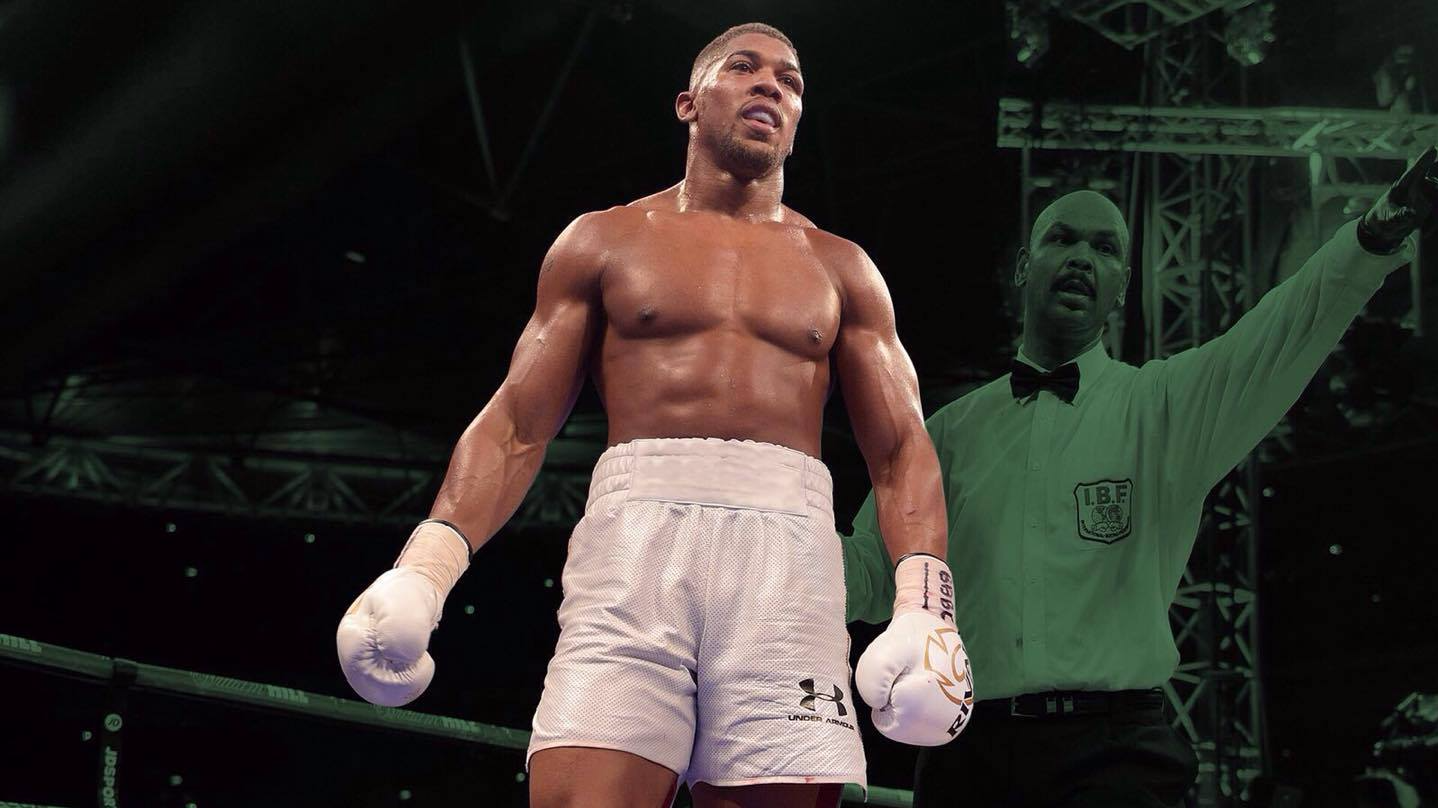 SPORTbible Meets: Anthony Joshua