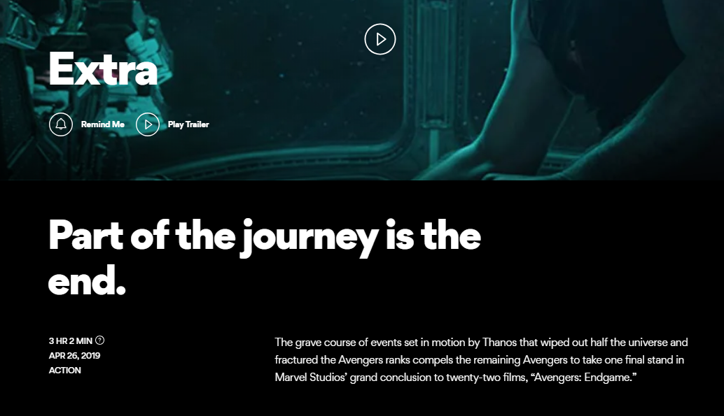 AMC revealed the film's runtime on their website. Credit: AMC