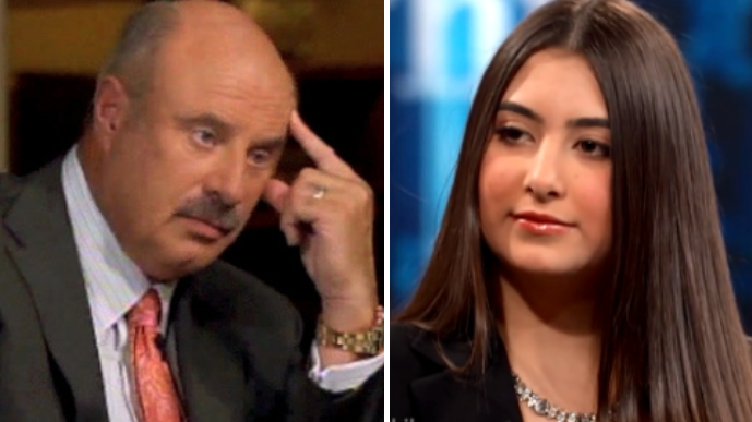 Teenager Branded A 'Spoiled Beverly Hills Brat' By Her Mum On Dr Phil