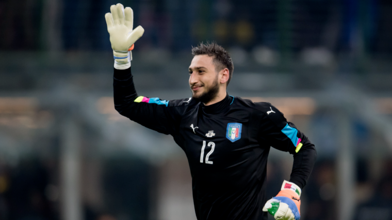 Donnarumma Milan message 'hacked'?