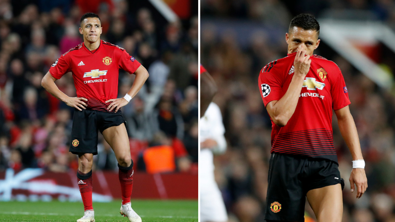 Fans Tear Into Alexis Sanchez As Manchester United Star Has Another Shocker