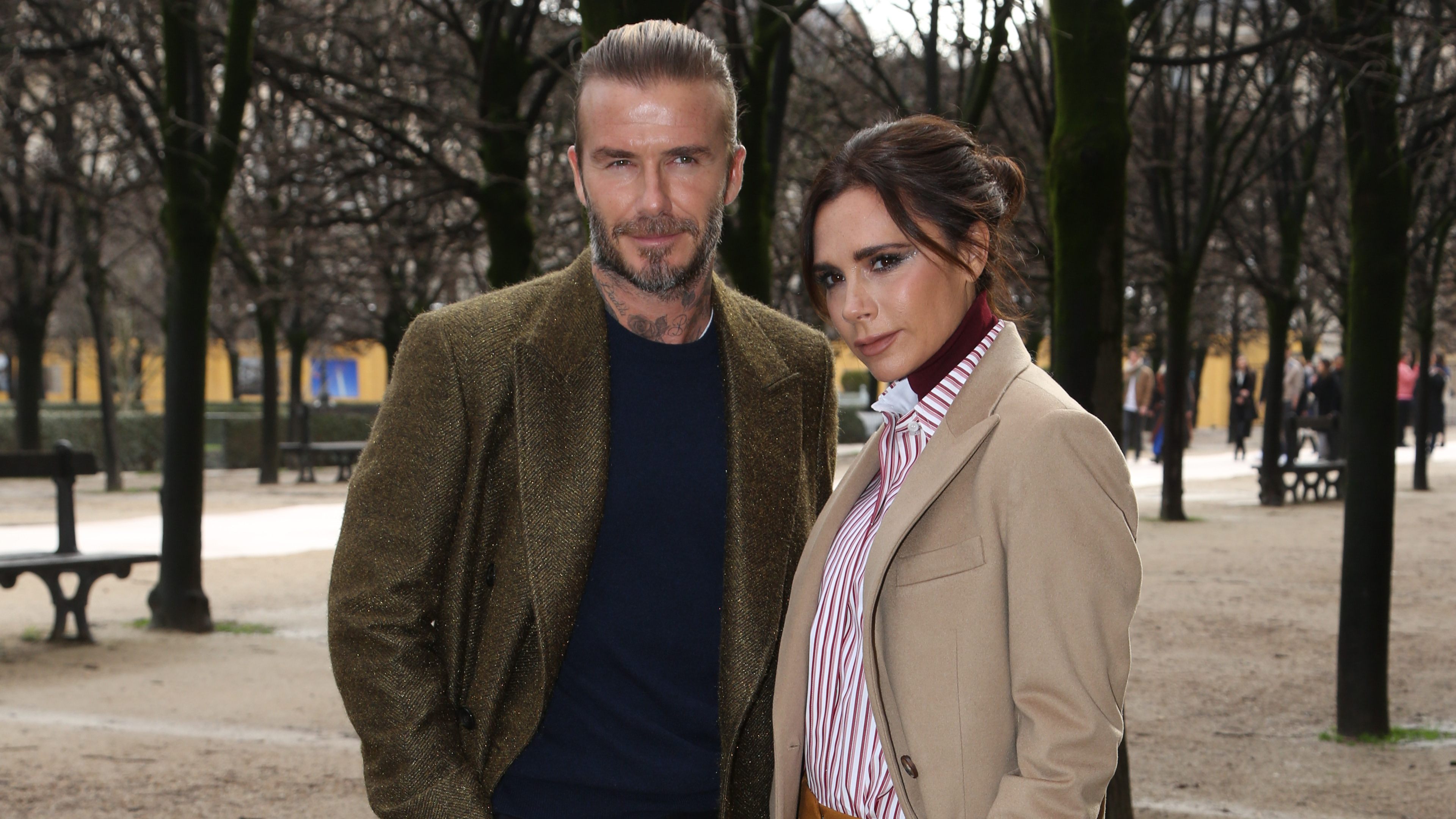 Victoria Beckham commented on rumors of her marriage, appearing for the cover of Vogue