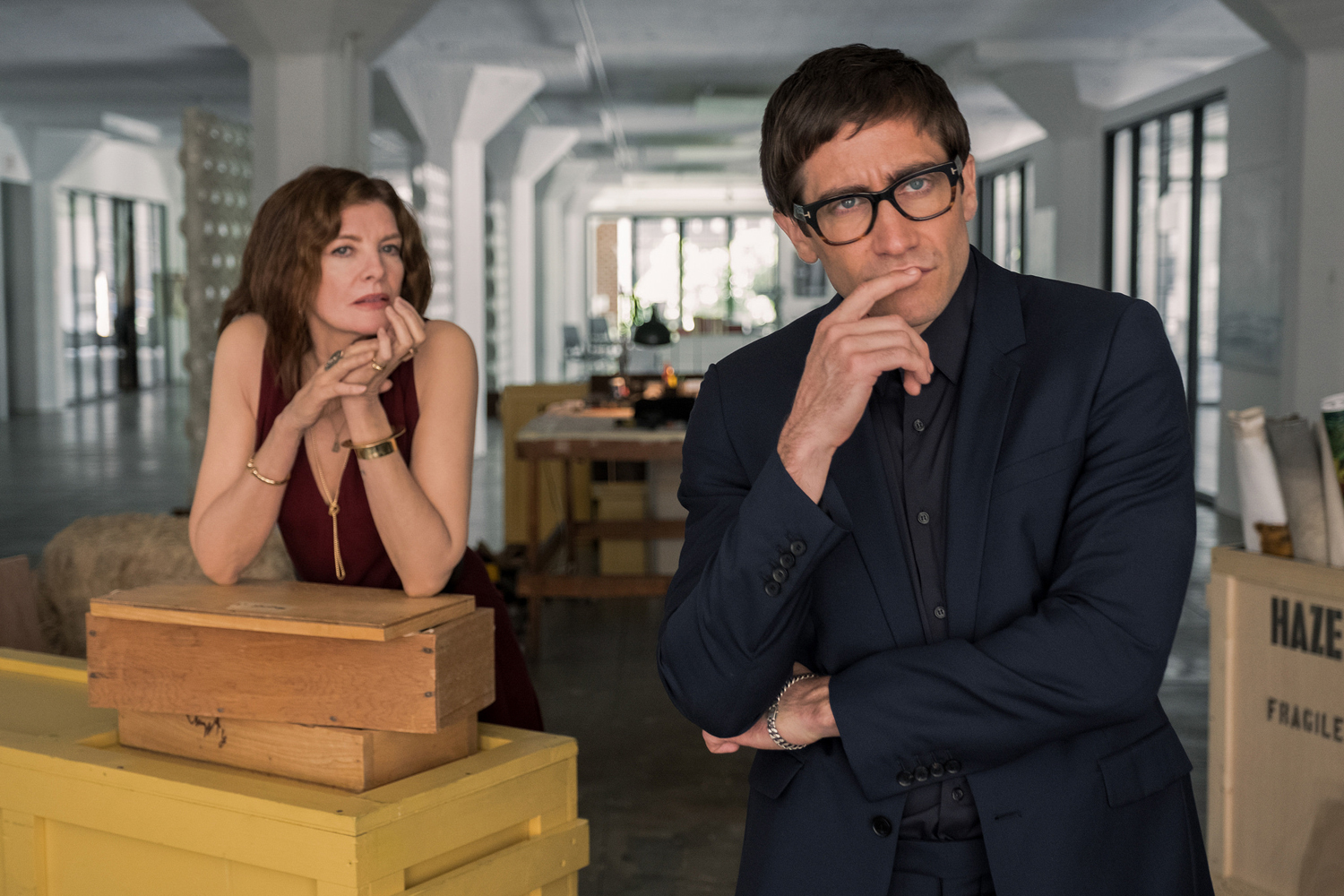 Velvet Buzzsaw Netflix horror movie starring Jake Gyllenhaal