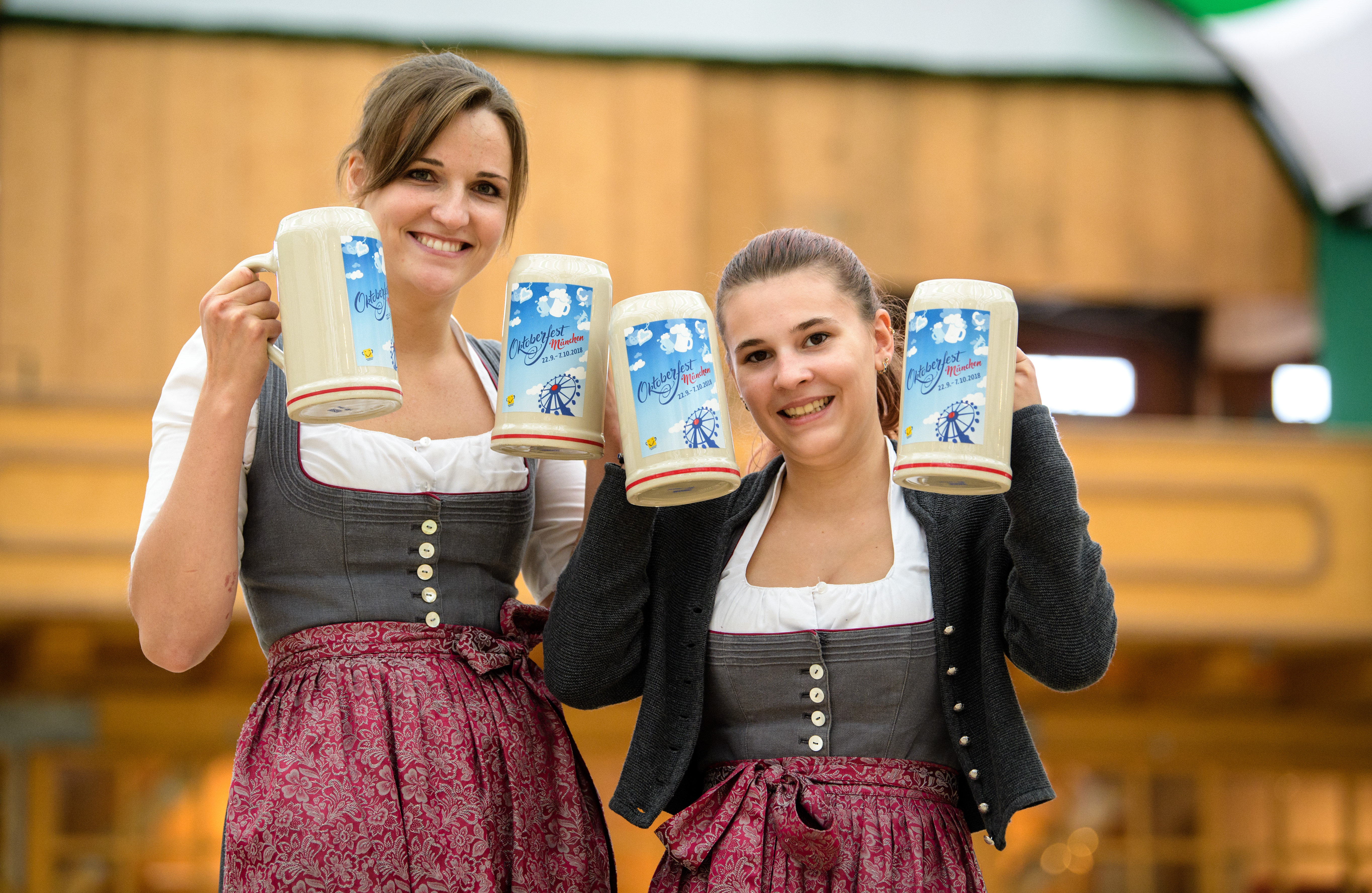The traditional Bavarian dress