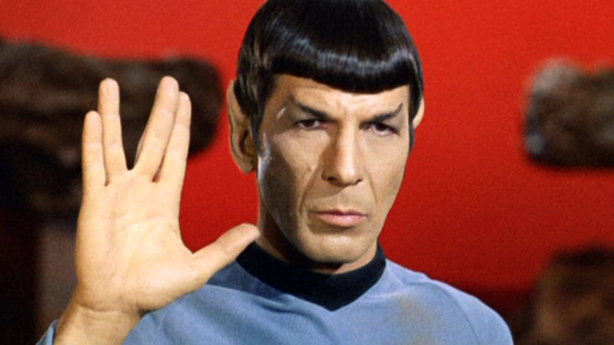 You know, the Vulcan salute. Credit: Paramount/CBS