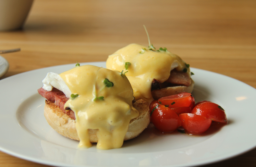 What eggs benedict is meant to look like. Credit: Flickr/Jon Mountjoy