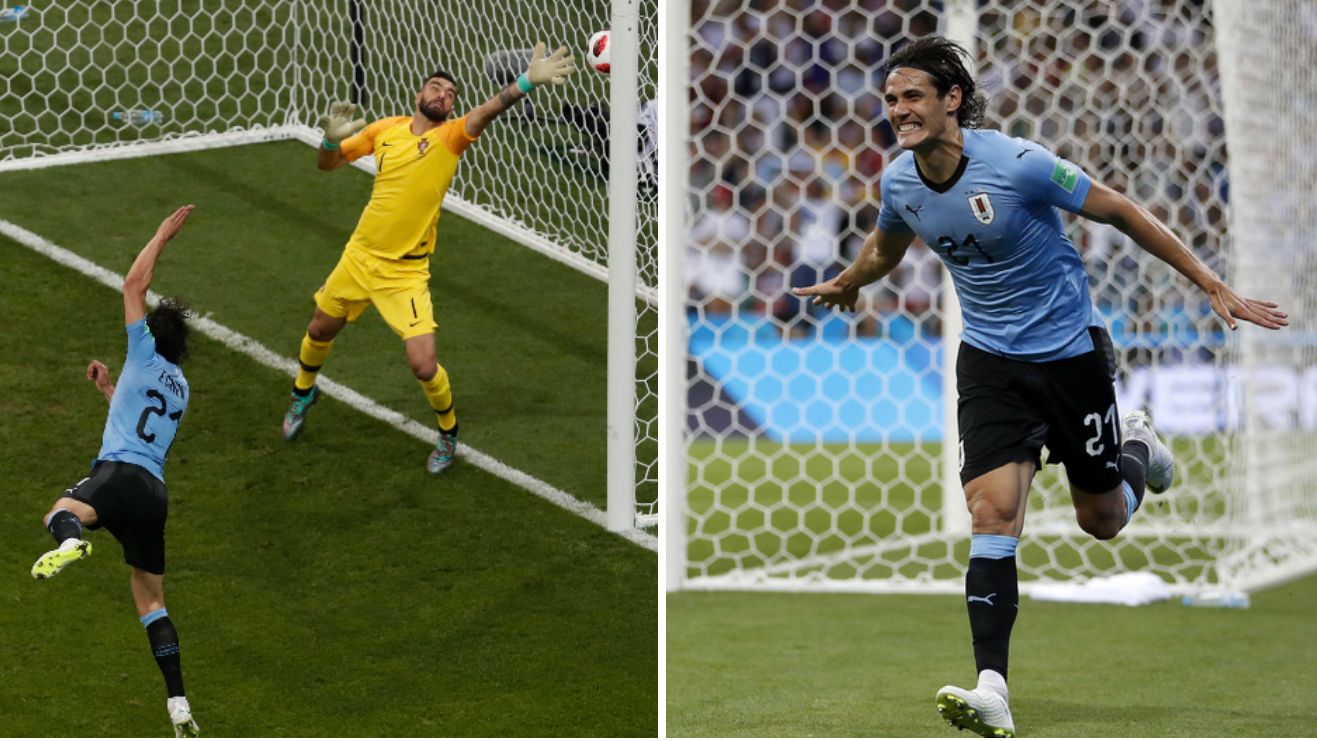 Watch: Luis Suarez And Edinson Cavani Produce Incredible One-Two For Uruguay Opener