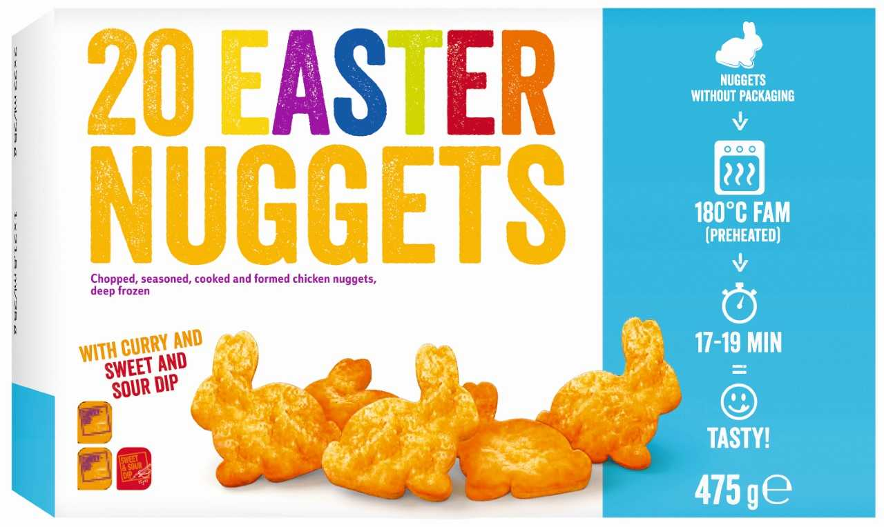 Lidl Is Selling Bunny Shaped Chicken Nuggets For Easter Tyla