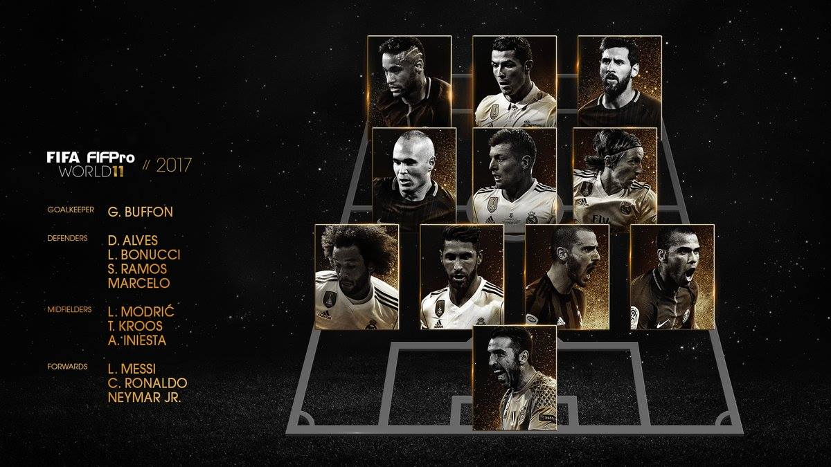 Luka Modric Named in FIFA World11